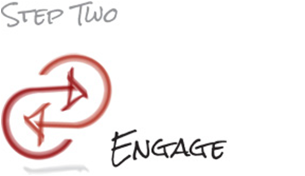 Step two Engage